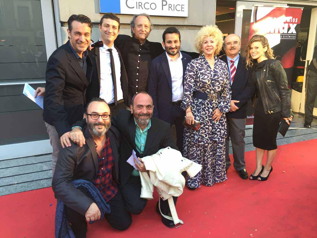 Gran triunfo valenciano en los XIX Premios Max