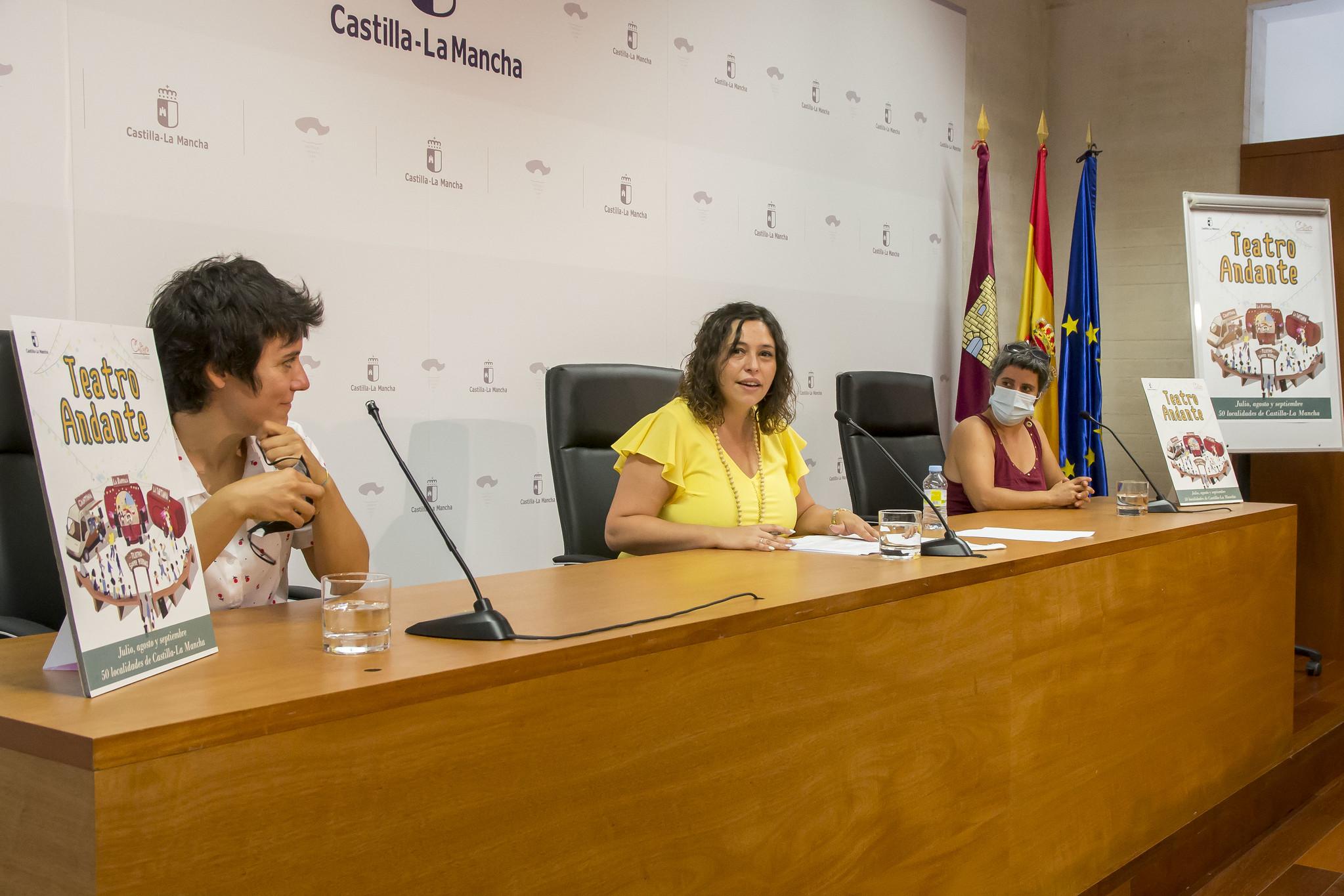 Presentación de la Temporada de 2021 de Artes Escénicas y Musicales de Castilla-La Mancha