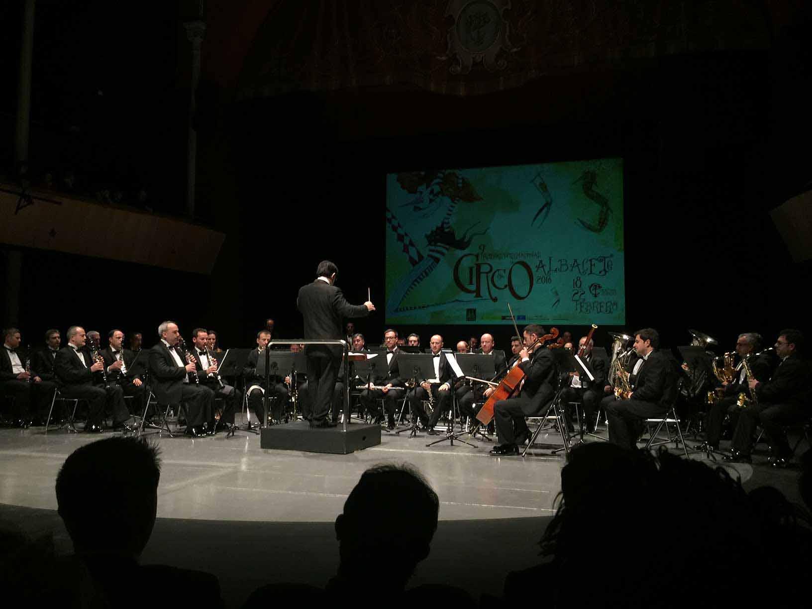 Concierto Festival Internacional de Circo de Albacete
