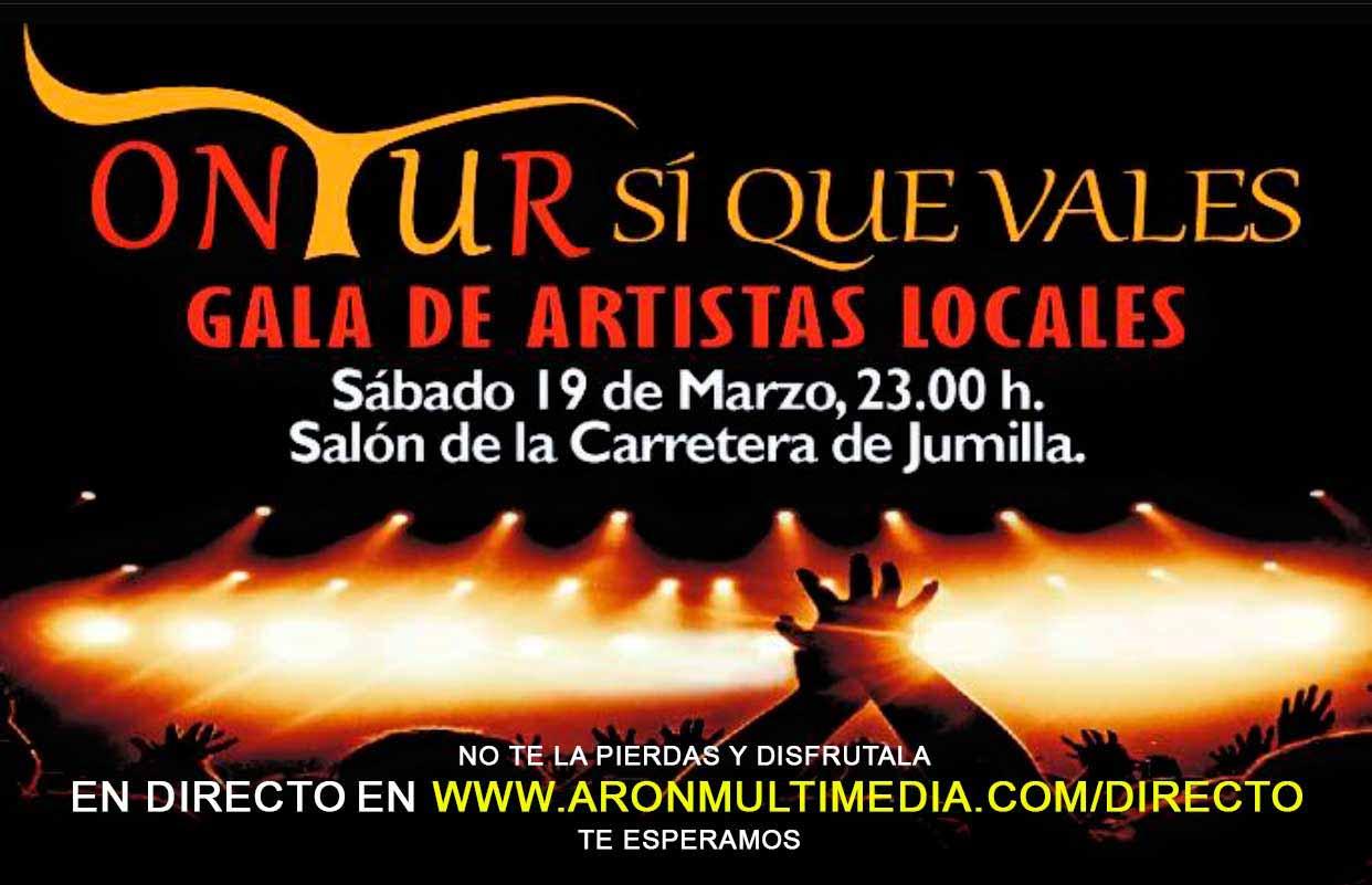 """San José en Ontur, retransmisión en directo de la Gala """"ONTUR S͍ QUE VALES"""""""