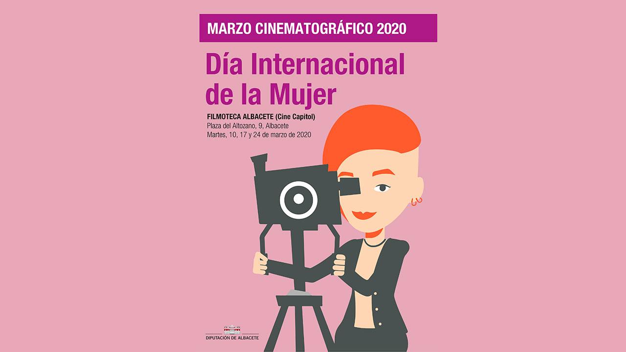 La Diputación de Albacete propone, de la mano de la Filmoteca, un 'Marzo Cinematográfico' que visibilice a las mujeres