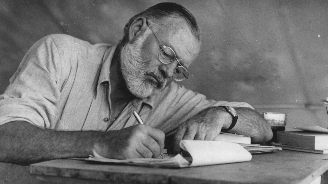 Ernest Hemingway: mito de la literatura universal