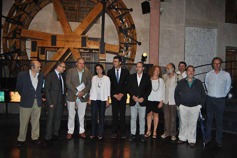 La Consejera de Educación, Cultura y Deportes de CLM Reyes Estévez se compromete a que 2016 suponga un reimpulso para la cultura en Cuenca