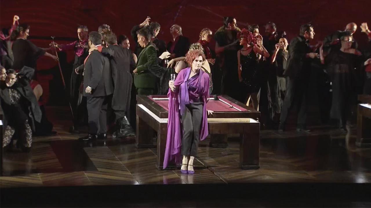 La Traviata se convierte en Peralada en alegato por la libertad de la mujer