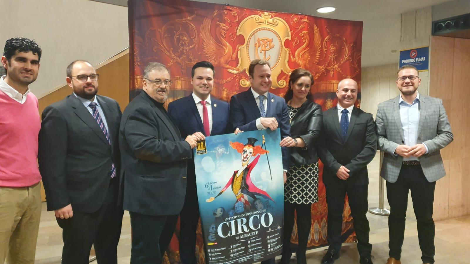 El Festival Internacional de Circo de Albacete queda inaugurado con múltiples sorpresas