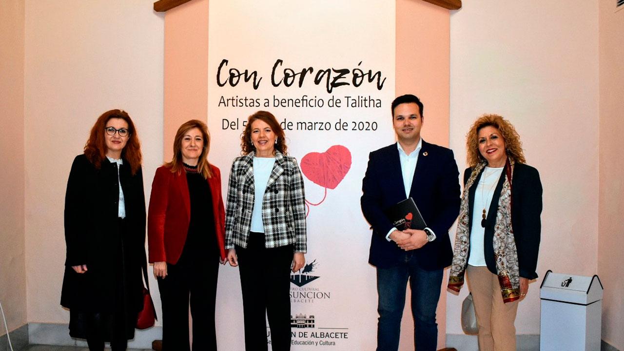 El Centro Cultural La Asunción se llena de 'corazón' gracias a una exposición multidisciplinar a beneficio de Talitha