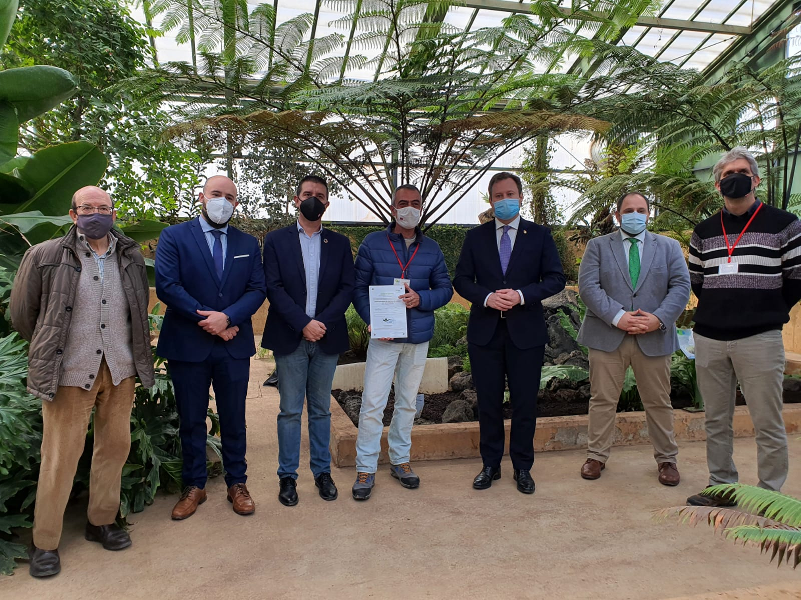 Cabañero anima a la ciudadanía a visitar el Jardín Botánico de Castilla-La Mancha en Albacete, el único de la Península Ibérica reconocido con el certificado de 'Excelencia Ecológica'