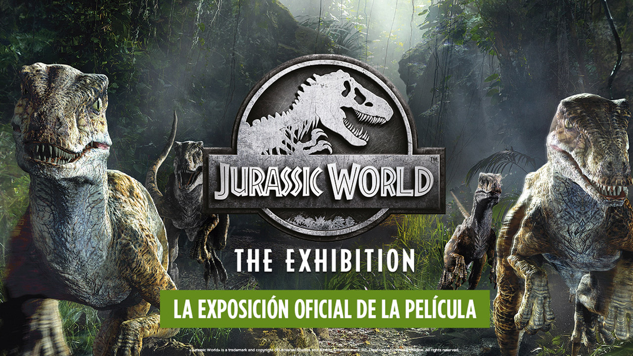 Cuenta atrás para visitar la Jurassic World The Exhibition en Madrid