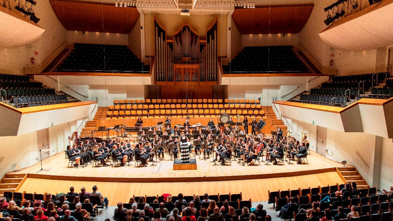 La Banda Simfònica de Dones de la FSMCV inicia este fin de semana su temporada 2020 en Amposta