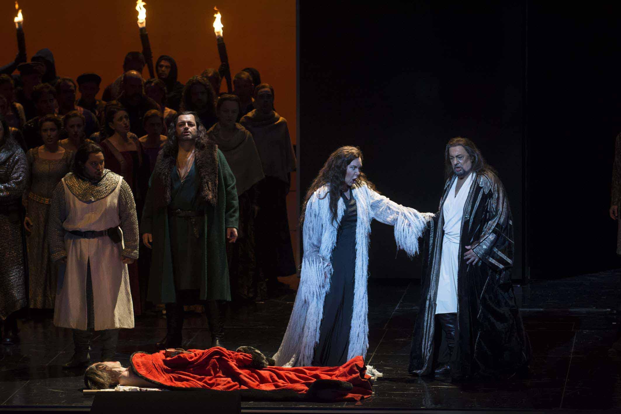 Les Arts acoge el ensallo general de Macbeth, de Verdi, com Plácido Domingo com protagonista