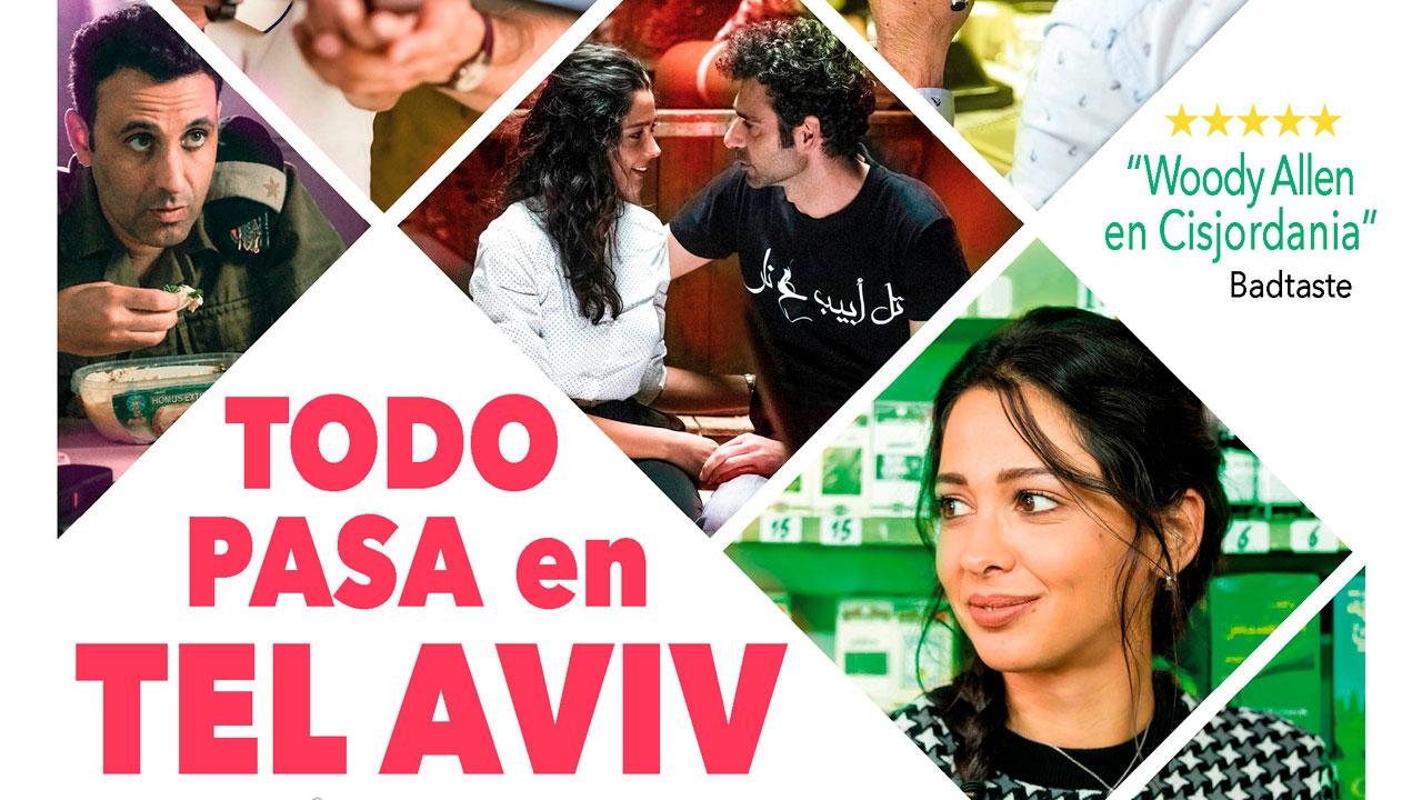 """Preestreno con público de la película """"Todo pasa en Tel Aviv"""" en los Cines Lys de Valencia"""
