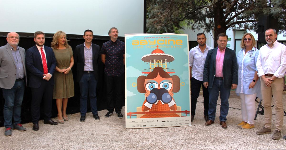 Abycine presenta el cartel y novedades de la que será la XX Edición del Festival Internacional de Cine de Albacete