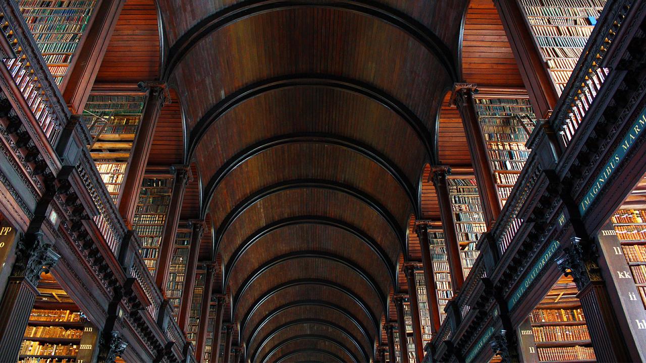 ¿Creerías en la existencia de una biblioteca mágica?