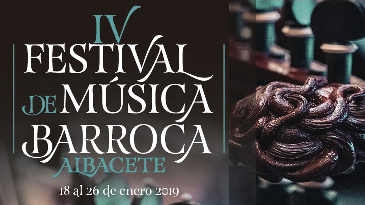 La IV edición del Festival de Música Barroca de Albacete llega entre los días 18 y 26 de enero