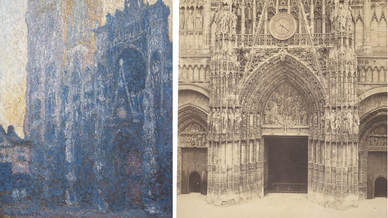 Fotografía y pintura, dos artes compartidos.