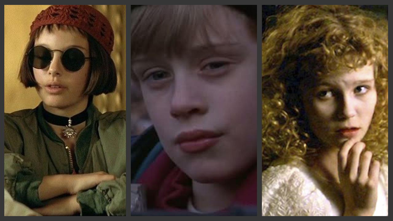 Los polémicos papeles interpretados por niños actores