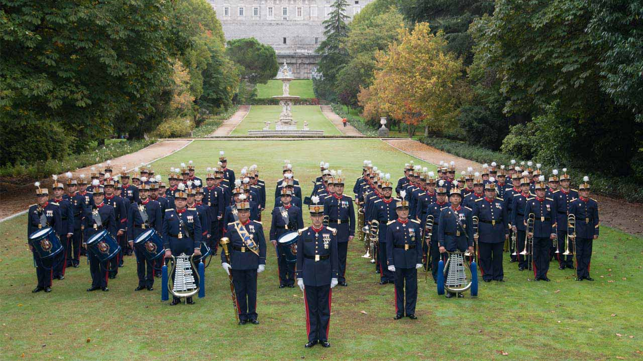La Unidad de Música de la Guardia Real tocará en el Auditorio de Castellón