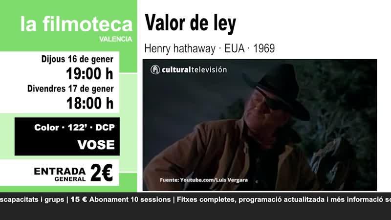 VALOR DE LEY