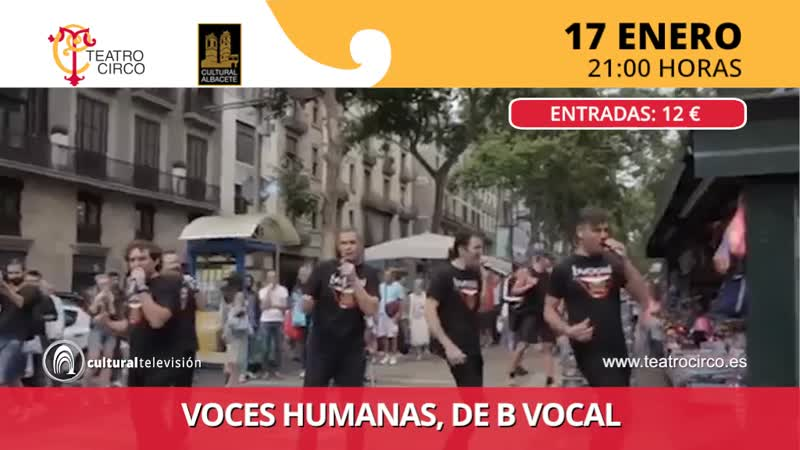 VOCES HUMANAS, DE B VOCAL