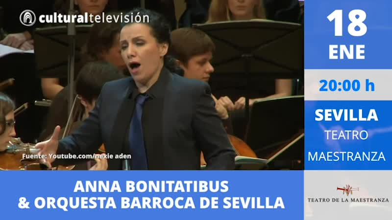 ANNA BONITATIBUS  & ORQUESTA BARROCA DE SEVILLA