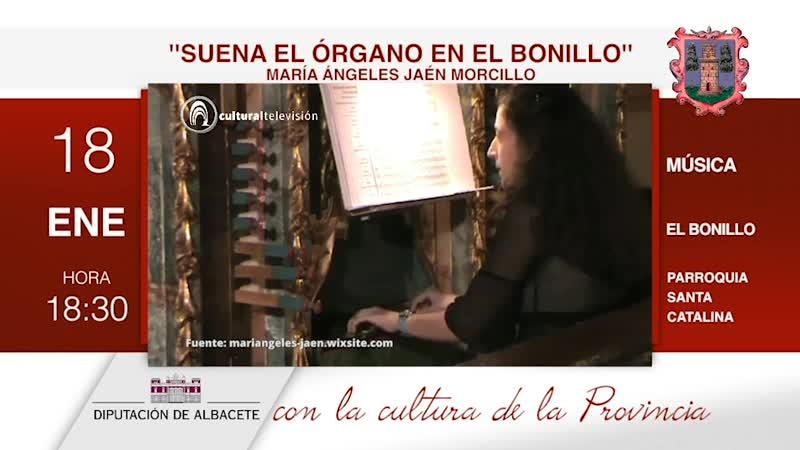 ''SUENA EL ÓRGANO EN EL BONILLO'' | MARÍA ÁNGELES JAÉN MORCILLO