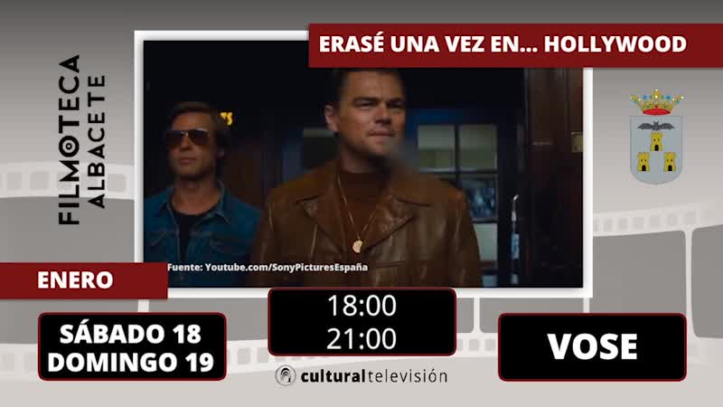ERASE UNA VEZ EN... HOLLYWOOD