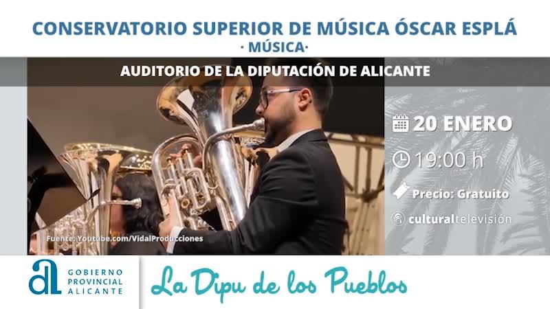 CONSERVATORIO SUPERIOR DE MÚSICA ''ÓSCAR ESPLÁ''