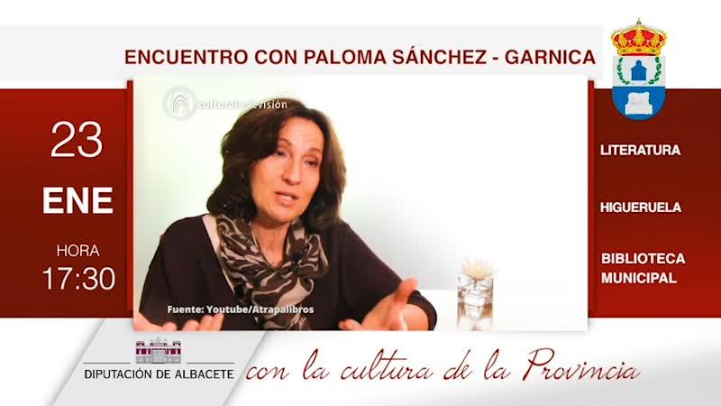 ENCUENTRO CON PALOMA SÁNCHEZ-GARNICA