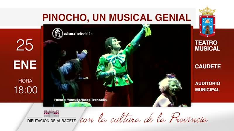PINOCHO, UN MUSICAL GENIAL