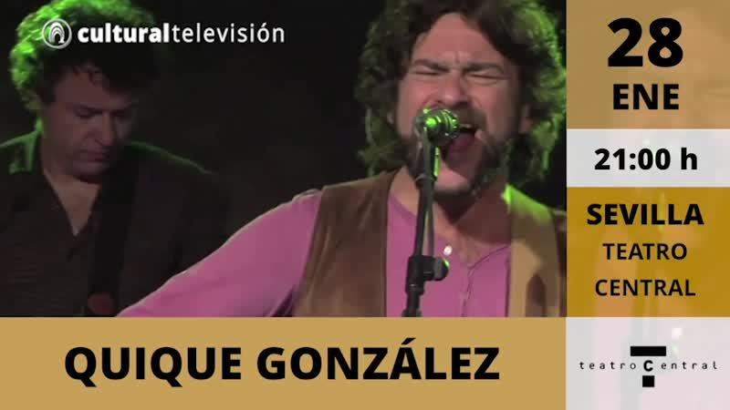 QUIQUE GONZÁLEZ