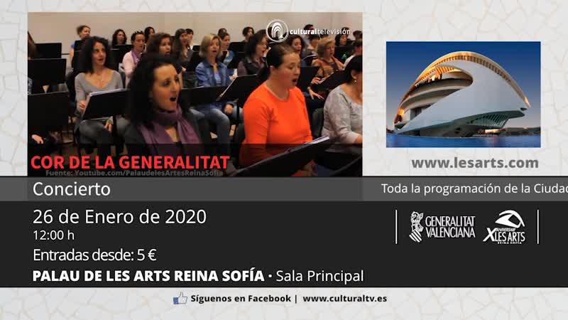 MATINS A LES ARTS | COR DE LA GENERALITAT