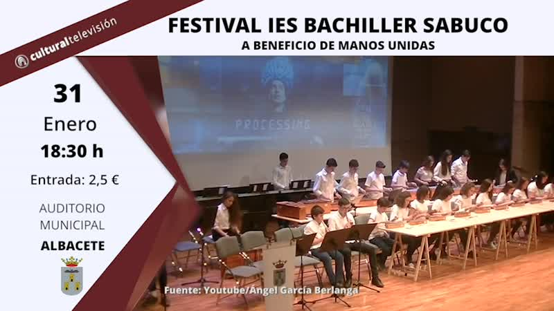 FESTIVAL IES BACHILLER SABUCO