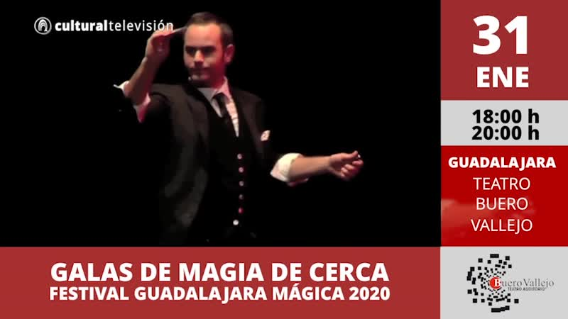 GALAS DE MAGIA DE CERCA | FESTIVAL GUADALAJARA MÁGICA 2020