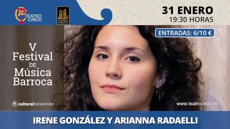 IRENE GONZÁLEZ, CLAVE Y ARIANNA RADAELLI, CLAVE