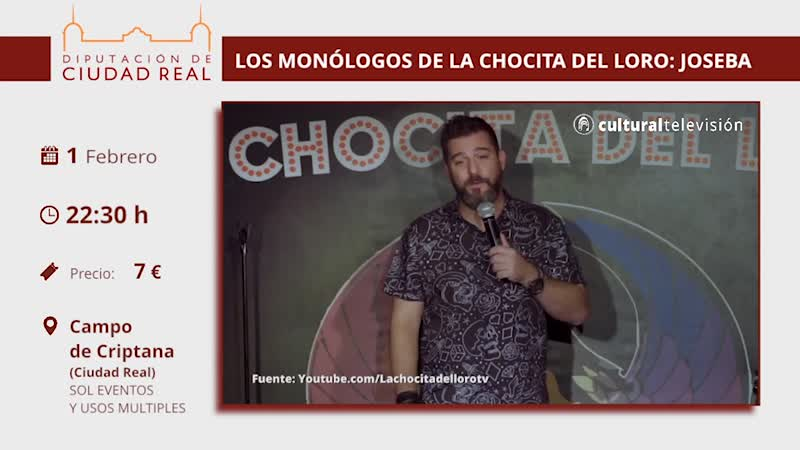 LOS MONÓLOGOS DE LA CHOCITA DEL LORO: JOSEBA