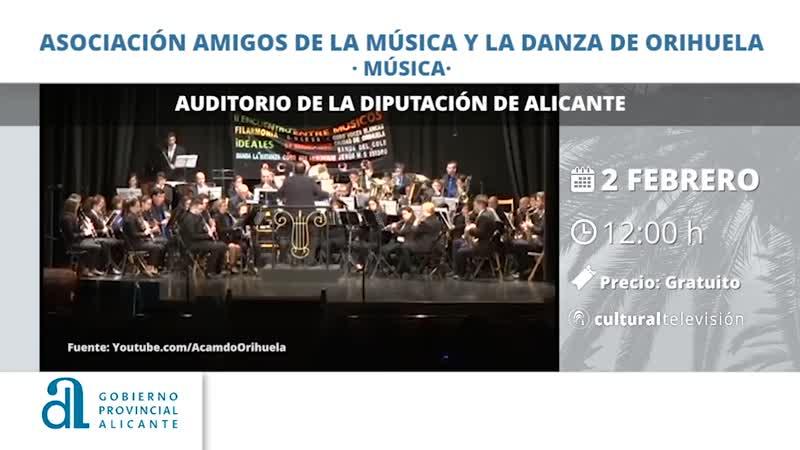 ASOCIACIÓN AMIGOS DE LA MÚSICA Y LA DANZA DE ORIHUELA