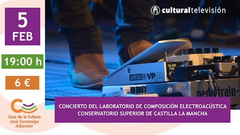 CONCIERTO DEL LABORATORIO DE COMPOSICIÓN ELECTROACÚSTICA