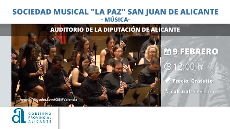 """SOCIEDAD MUSICAL """"LA PAZ"""" SAN JUAN DE ALICANTE"""