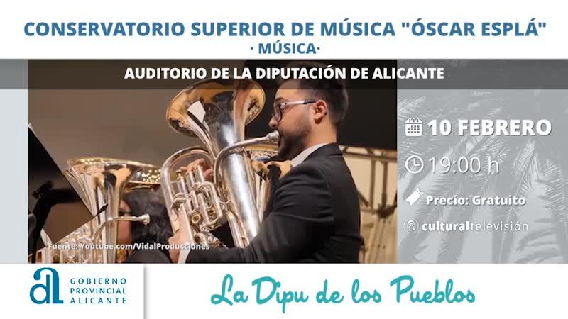 """CONSERVATORIO SUPERIOR DE MÚSICA """"ÓSCAR ESPLA"""""""