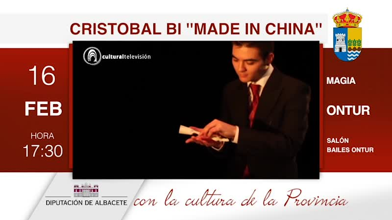 CRISTOBAL BI ''MADE IN CHINA''