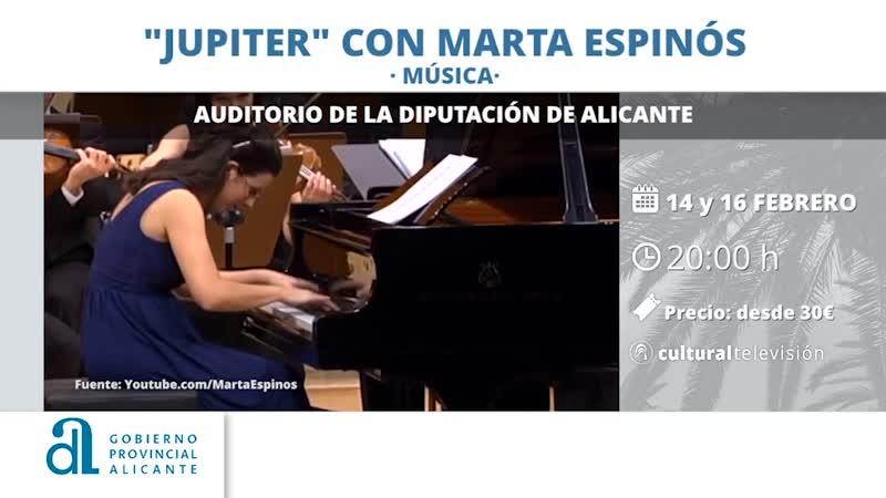 """""""JUPITER"""" CON MARTA ESPINÓS"""