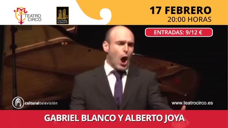 GABRIEL BLANCO Y ALBERTO JOYA