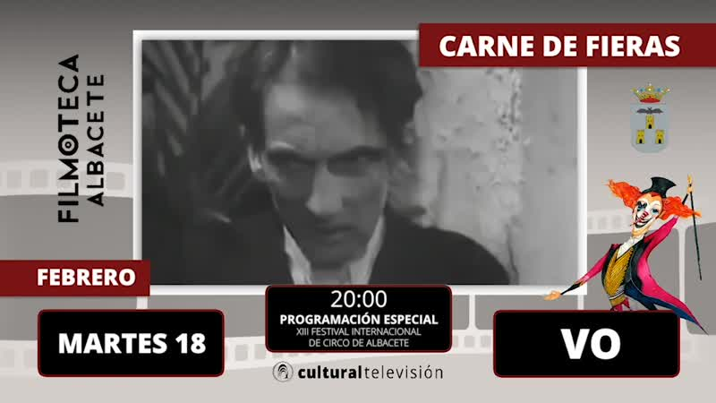 CARNE DE FIERAS | XIII FESTIVAL INTERNACIONAL DE CIRCO DE ALBACETE