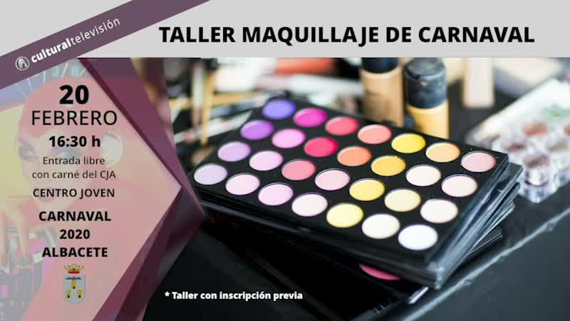 TALLER MAQUILLAJE DE CARNAVAL