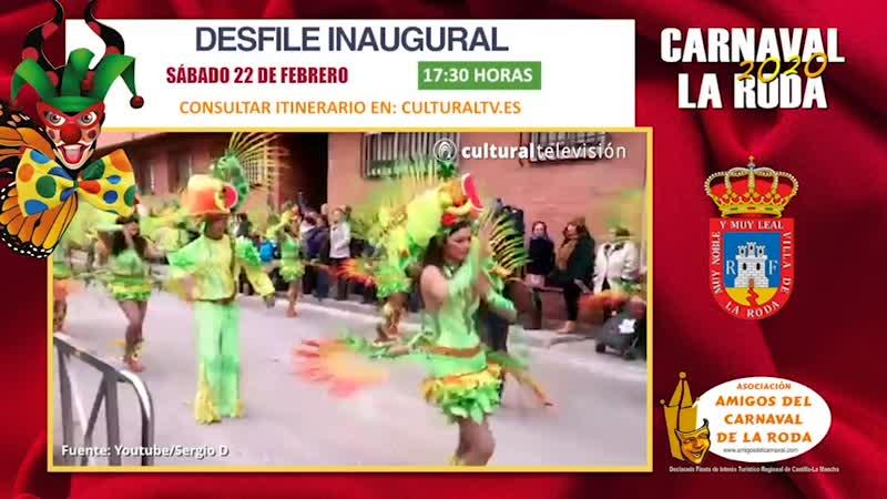 DESFILE INAUGURAL | CARNAVAL 2020 LA RODA