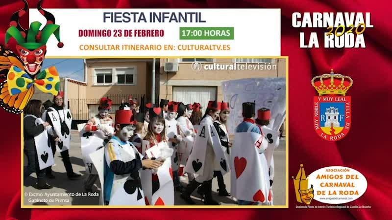 FIESTA INFANTIL | CARNAVAL 2020 LA RODA