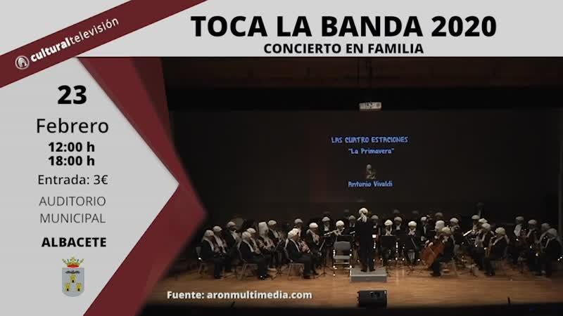 TOCA LA BANDA 2020 | CONCIERTO EN FAMILIA