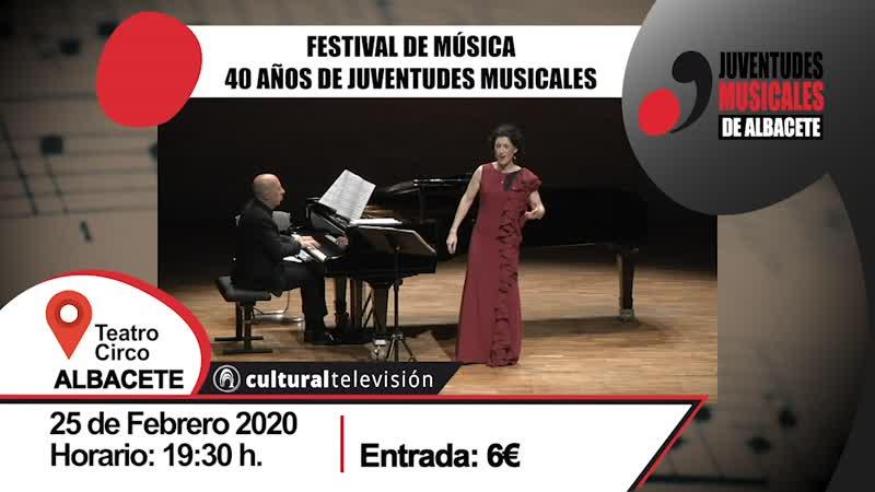 40 AÑOS DE JUVENTUDES MUSICALES | FESTIVAL DE MÚSICA