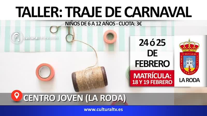 TALLER: TRAJE DE CARNAVAL