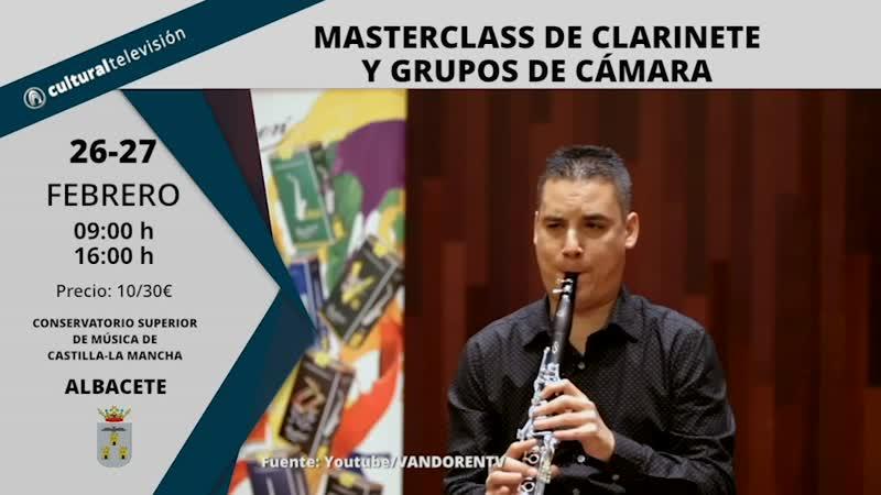 MASTERCLASS DE CLARINETE Y GRUPOS DE CÁMARA